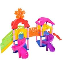 Kinder vroeg onderwijs speelgoed baby paradijs geassembleerd verlichting bouwstenen speelgoed