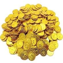 Kinderen piraat Treasure Toys Treasure Hunting spel Props piraat gouden munt zilveren munt koperen munt speelgoed (goud)