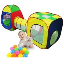Draagbare Magic House spel huis Kinder tent tunnel buis driedelige set