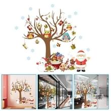 Kerstboom Kerstman kinderen kamer slaapkamer kamer muur sticker