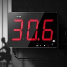 SNDWAY wandmontage 30 ~ 130dB groot scherm digitaal display Noise decibel monitoring testers  specificatie: SW525B met opslag + USB