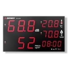 SNDWAY wandmontage 30 ~ 130dB groot scherm digitaal display ruis decibel monitoring testers  specificatie: SW535A 18 inch display 5-in-1