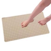 PVC anti slip toilet badkamer zuig sucker Bad matten tapijt  grootte: 71x40CM (kaki)