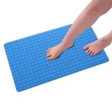 PVC anti slip toilet badkamer zuig sucker Bad matten tapijt  grootte: 71x40CM (blauw)