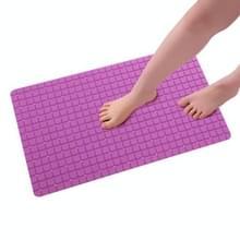 PVC anti slip toilet badkamer zuig sucker Bad matten tapijt  grootte: 71x40CM (paars)