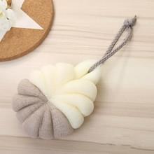 Draagbare opknoping Bad Flower Ball zachte schuimende douche massage bal lichaam exfoliërende bad borstel (koffie)