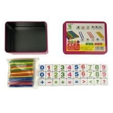 Montessori Early Learning Math Tools Digital Stick Kinderen Kleuterschool Teaching Aids (Magnetische Stickers)