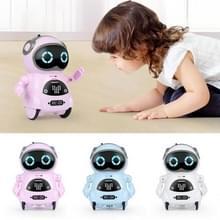 Kinderen Mini Multifunctionele Voice Smart Pocket Robot Ouder-kind Interactief speelgoed (Random Color Delivery)