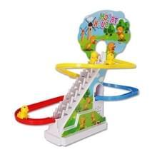 Electric Toy track eendje automatische klim trap met muziek en licht Park track