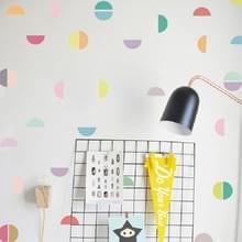 Muur sticker woonkamer achtergrond meubilair muur decoratie transparante sticker  stijl: halve cirkel PA107