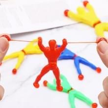 20 stuks Sticky Climbing muur Superman klimmer speelgoed  willekeurige kleur levering