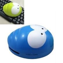 Draagbare schattige mini kever Desktop Keyboard Cleaner (blauw)