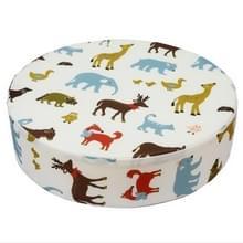 Baby Kids spons stoel Booster kussen eetkamerstoel kind verhoging hoogte seat pad mat kussens (beige)