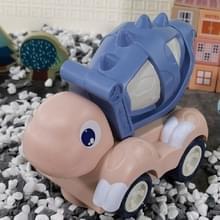Kinderen elektrische dinosaurus muziek licht engineering voertuig opgraving auto speelgoed auto (blauwe mixer)