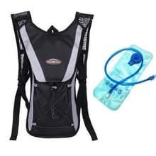 Outdoor Sports Mountaineering Fietsrugzak met 2L Water Bag(Zwart)