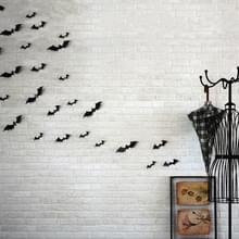 10 sets Halloween stereo muur stickers simulatie bat stickers