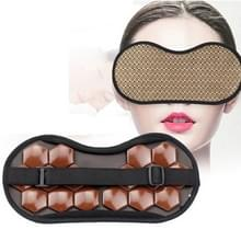 2 PCS Travel Office Magnetic Therapy Health Care Schaduw Oogmasker (Meteoriet)