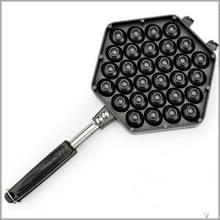 Huishoudelijke non-stick Bakeware schimmel QQ ei bakken lade (zwart)