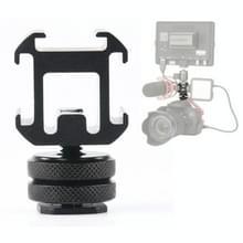 2 stks universele camera roterende PTZ drie-Head Hot Shoe base