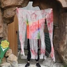 Halloween Horror decoraties gaas Haunted House scène regeling rekwisieten  type: dun garen gordijn
