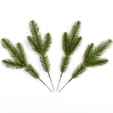 4 PC'S Pine takken simulatie plant Pine naald Decoratie accessoires handgemaakte materialen Home Decoratie