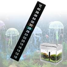 2 stuks PET materiaal digitale LCD kleur vis tank sticker thermometer