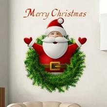 Christmas Santa Claus muur sticker Home decor
