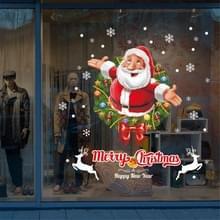 Kerst venster glas venster slaapkamer woonkamer Santa Claus decoratie sticker