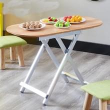 Opvouwbare tafel eettafel Portable outdoor tabel eenvoudige studie tafel  hoogte: 55cm (Oak)