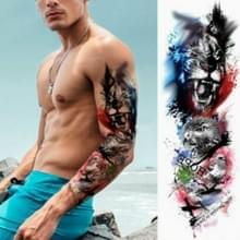 Grote arm mouw waterdichte tijdelijke tattoo sticker (TQB-089)