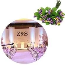 5 PCS Plastic Handgemaaktdiy Wedding Foam Flower Head Simulation Bouquet Flower Stamen(25 - 10 Sticks)