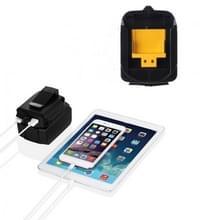 Batterij USB adapter Charging Converter voor MAKITA ADP05 18V 14.4 V Lithium batterij (zwart)