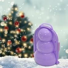 Winter verdikking sneeuw gereedschap simulatie 3D sneeuwpop model kinderen speelgoed willekeurige kleur levering