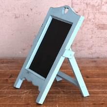 Multifunctioneel houten bureaublad memo message blackboard  grootte:35×20×12cm(Blauw)