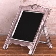 Multifunctionele houten Desktop Memo bericht Blackboard  grootte: 35 × 20 × 12cm (hout)