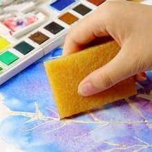 2 stuks aquarel whitening schoonmaken veeg Pigskin kunststof aquarel verf rubber Art Supplies 5x7cm