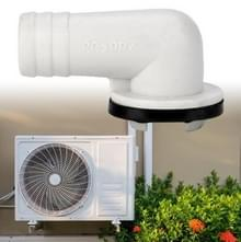 Elleboog airconditioning externe Air Conditioner uitlaat afvoer sproeier universeel drainage gereedschap voor LG Air Conditioner (diameter 19mm)