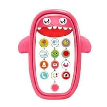 Kinderen Intelligent Early Education Learning Baby Simulatie Mobiele Telefoon Speelgoed  Engels Versie (Roze)
