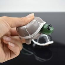 Telescopische hoofd schildpad volwassen decompressie grappig squeeze vent Toy (grijs)