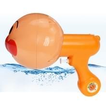 Kinderen brood grote Superman kleine water gun zomer water speelgoed 3D stereo cartoon Super water gun outdoor speelgoed (oranje)