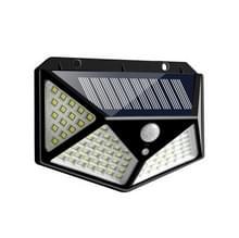 1 STKS 100 LEDs buiten patio Solar inductie muur licht verstelbaar balkon tuinverlichting kleine straat licht