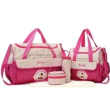 5 in 1 set multifunctionele draagbare mom Delivery Kit (Rose rood)