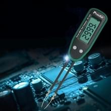 MT-1632 weerstand capaciteit tester verandering pincet SMD diode test clip (groen)
