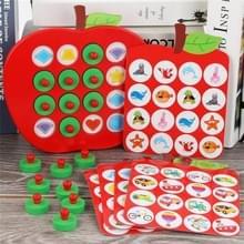 Jonge kinderen houten geheugen matching Schaken spel focus logisch denken opleiding speelgoed ouder-kind interactieve Brain Game