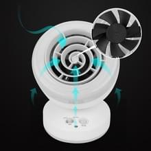 Zomer Home Mute Smart USB oplaadbare fysieke zuiging LED Fotokatalyst Mosquito Killer Lamp (Zwart)