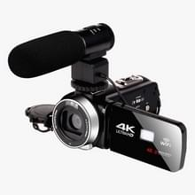 4K HD Night Vision 48MP Home WiFi Live Camcorder DV Digitale Camera  Stijl:Microfoon