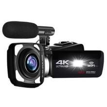 4K HD Night Vision 48MP Home WiFi Live Camcorder DV Digitale Camera  Style:Hood + Microfoon