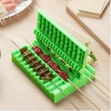 3-in-1 Barbecue Vlees Spies Machine BBQ Vlees String Quick Meat Skewer Box Easy Skewer Tool
