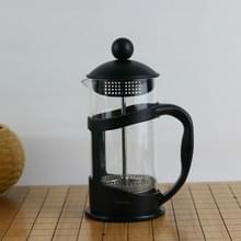 Hoge Borosilicate Koffiefilter Pot Brewing Teapot Hand Punch Coffee Pot Milk Frother  Specificatie:350ml