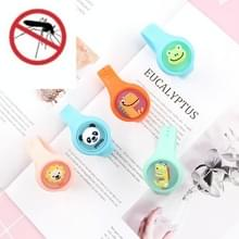 6 PCS Mosquito Insectenwerend middel Armband Kinderen Lichtgevende Cartoon Candy Kleur Anti-mug Watch  Random Color Delivery